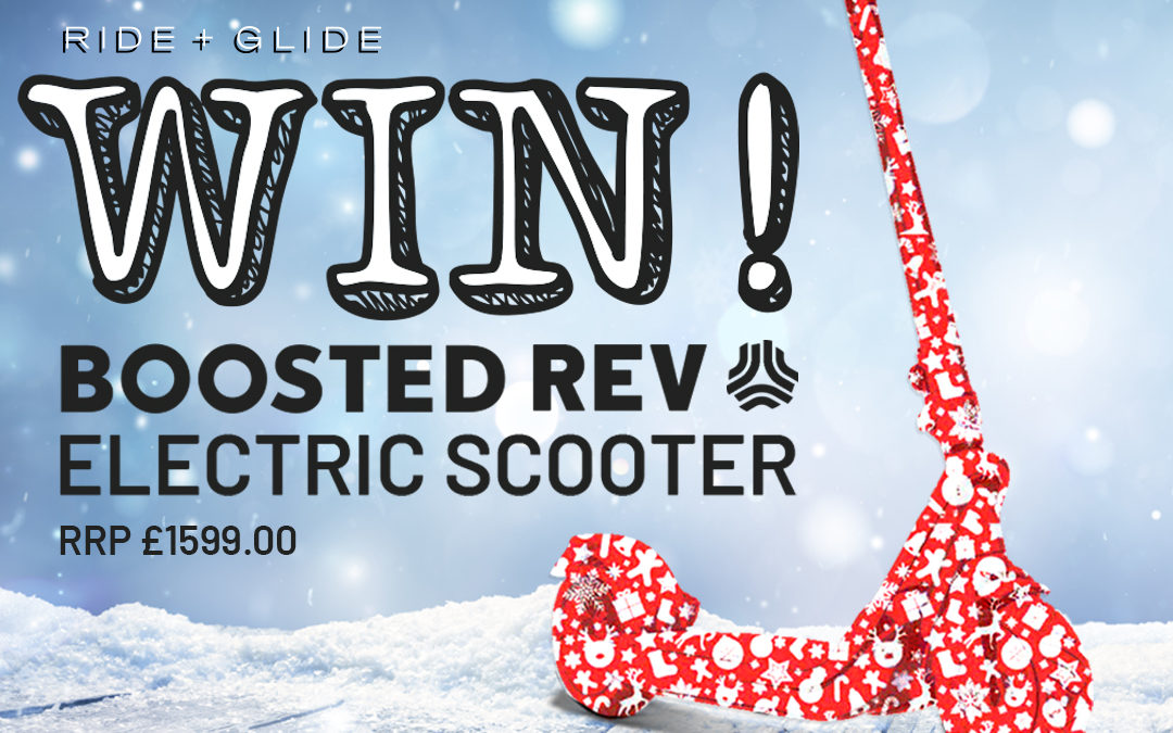 Ride + Glide Competition: Win a Boosted Rev!