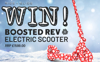 boosted rev electric scooter giveaway
