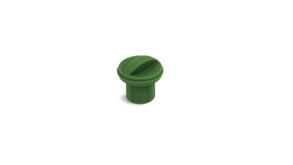 Dark Olive XR Charger Plug on a white background