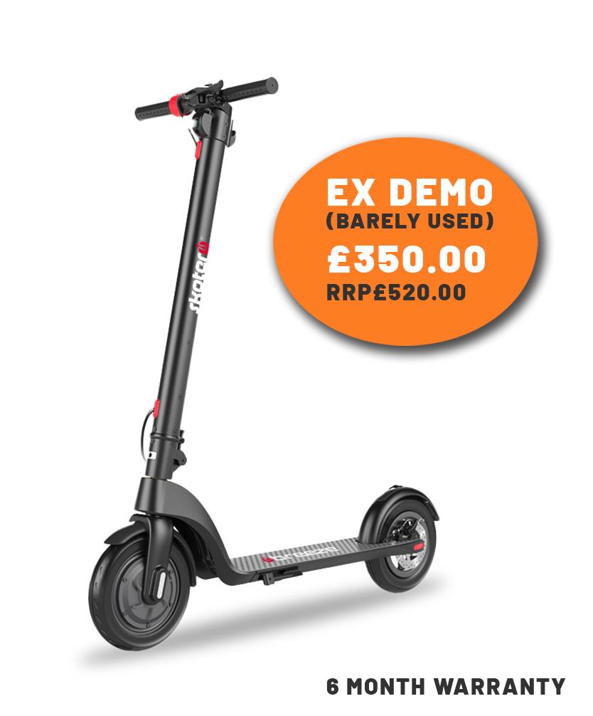 SKOTERO breeze electric scooter ex demo sale price