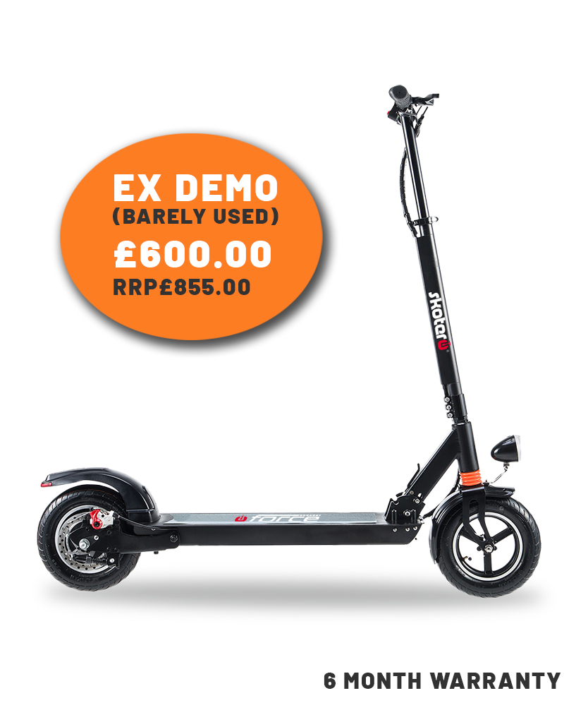 skotero force electric scooter ex demo sale
