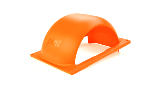fluorescent orange fender