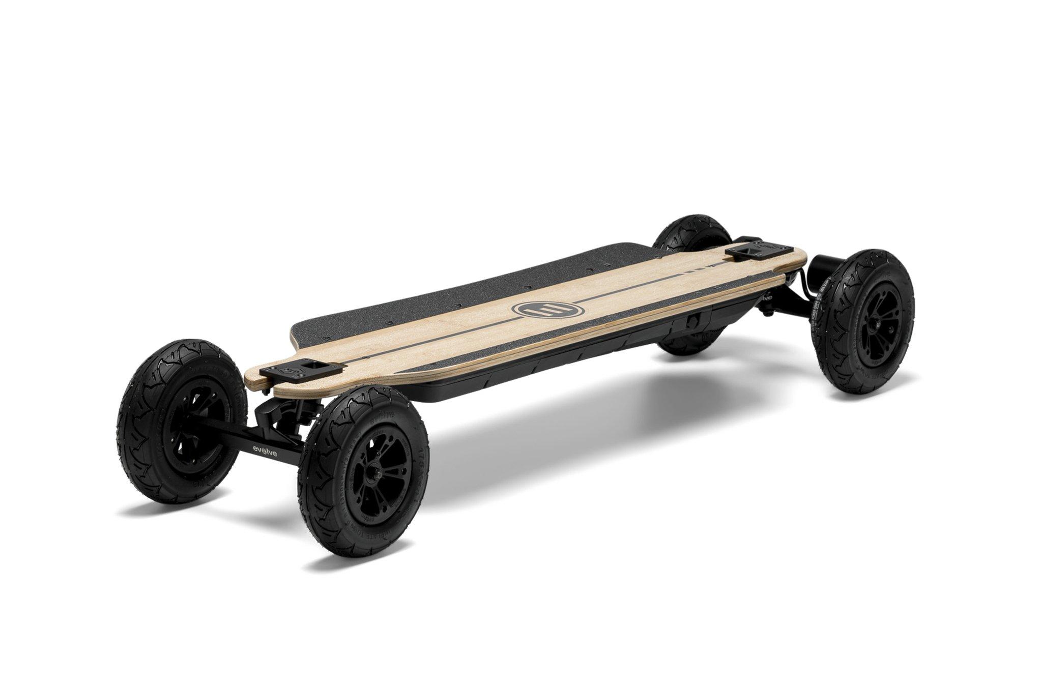 evolve bamboo gtr electric skateboard