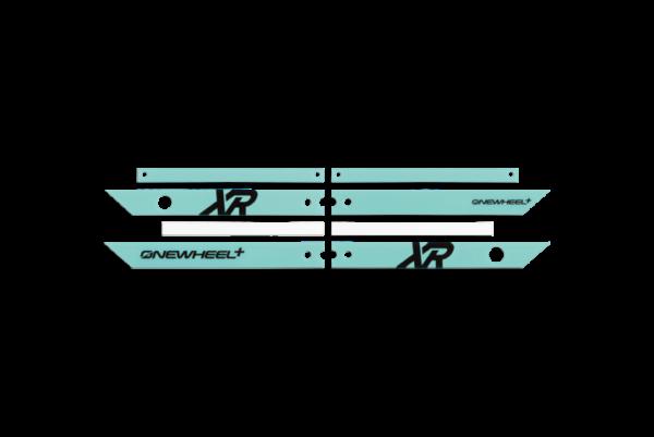 Onewheel XR Mint Rails on a white background