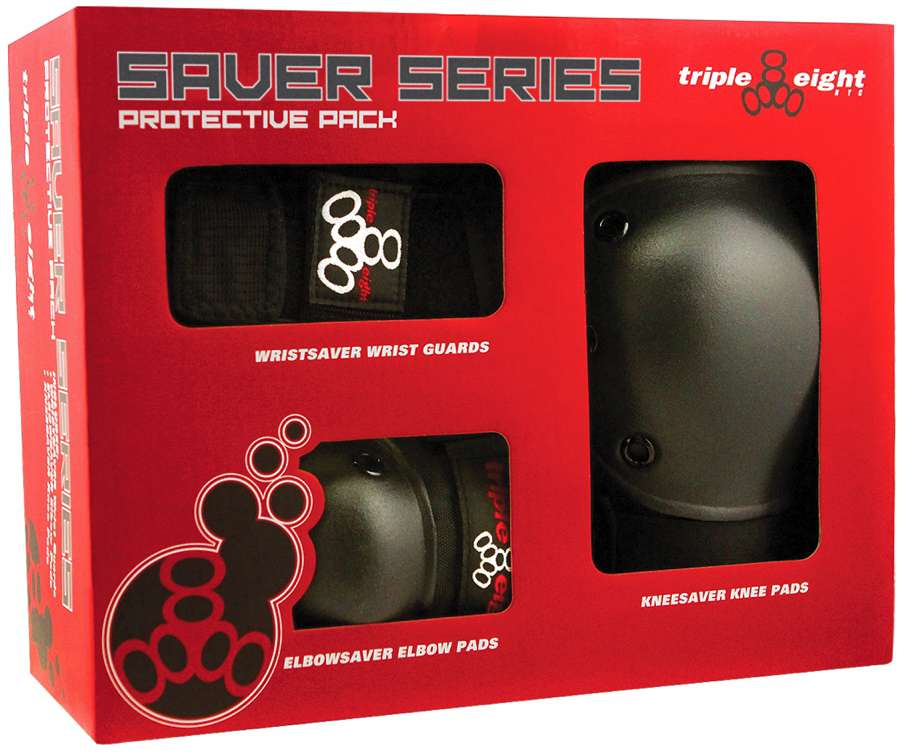 Triple 8 Saver Series 3 Pc Pad Set
