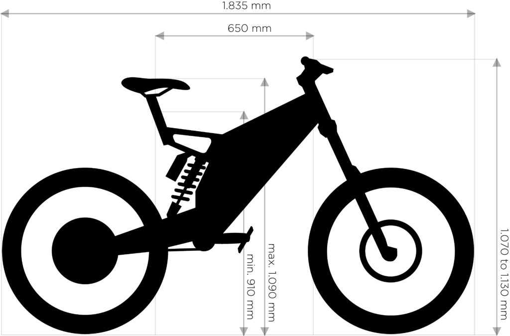 b52 dimensions
