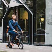 stigo s + riding through city
