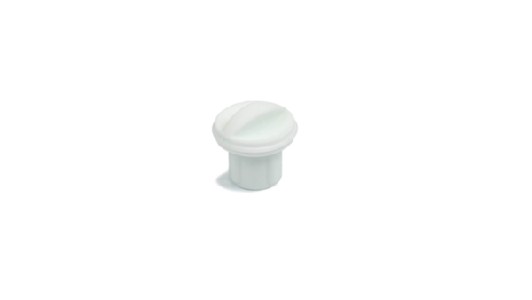 White XR Charger Plug on a white background
