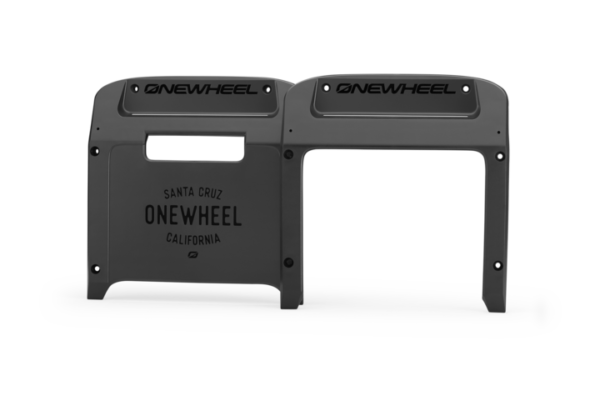 Black Onewheel XR Bumpers on a white background