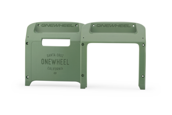 Dark Olive Onewheel XR Bumpers on a white background