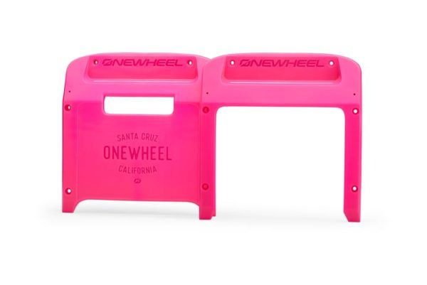 Fuschia Onewheel XR Bumpers on a white background