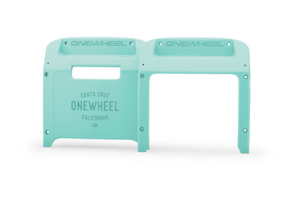 Mint Onewheel XR Bumpers on a white background