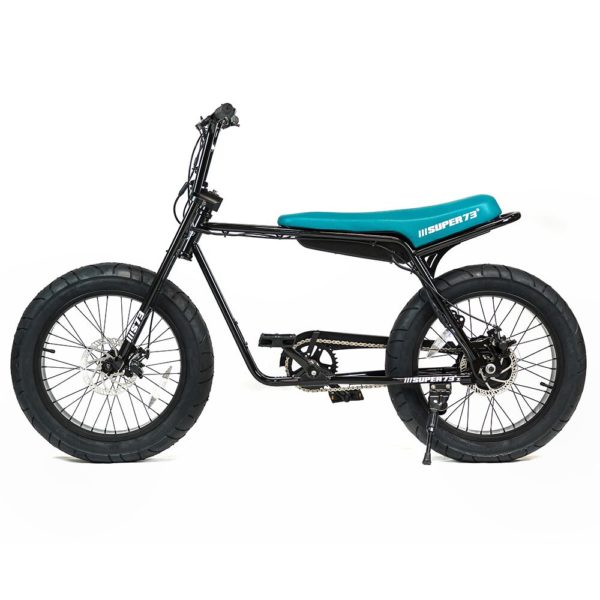 Super 73 ZG Electric Bicycle Side View In Black