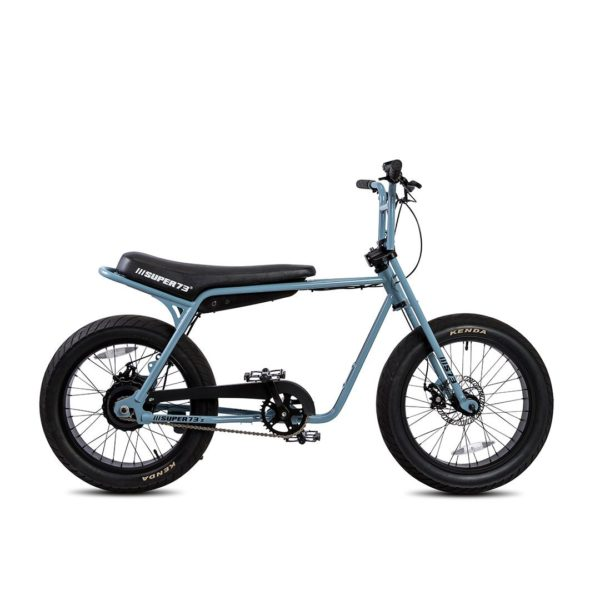 Super 73 ZG Electric Bicycle Right Side View In Blue
