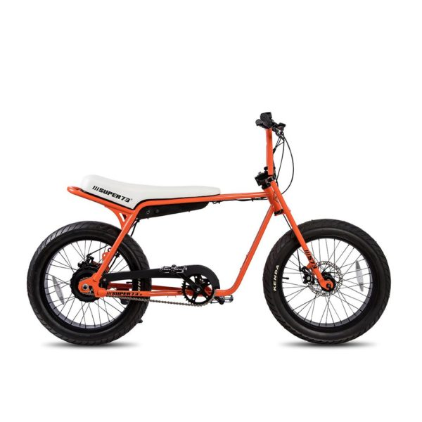 Super 73 ZG Electric Bicycle Right Side View In Orange