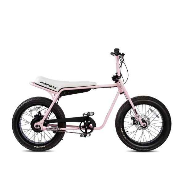 Super 73 ZG Electric Bicycle Right Side View In Pink
