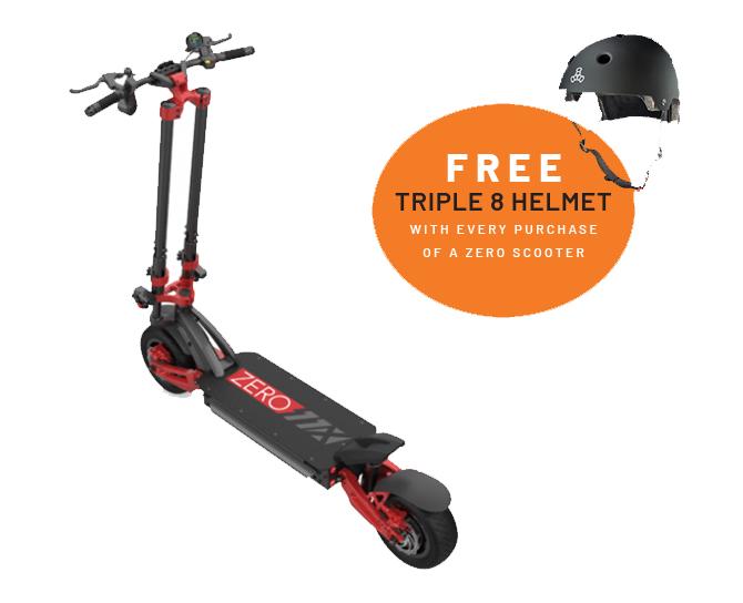 Zero 11x electric scooter