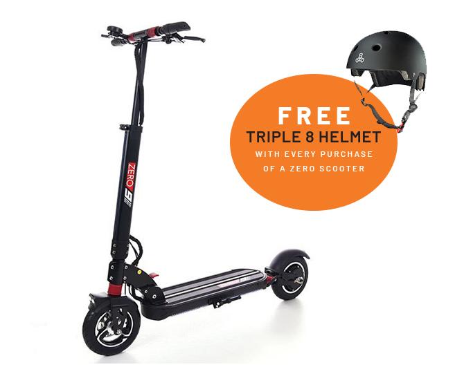 Zero 9 electric scooter