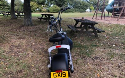 Skotero Humley electric scooter Road Legal