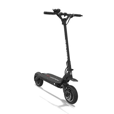 dualtron electric scooter front on angle