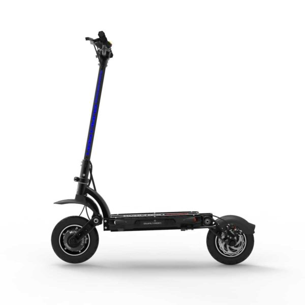 dualtron spider electric scooter side on