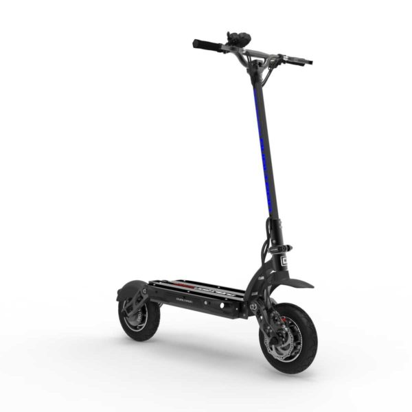 dualtron spider electric scooter front on