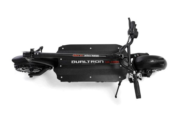 dualtron ultra-folded electric scooter