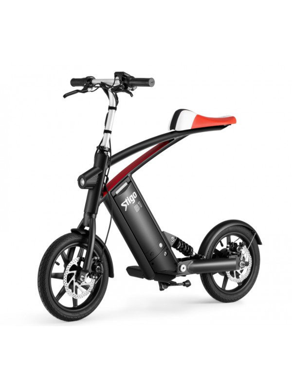 Stigo B1 front/side profile electric scooter bike