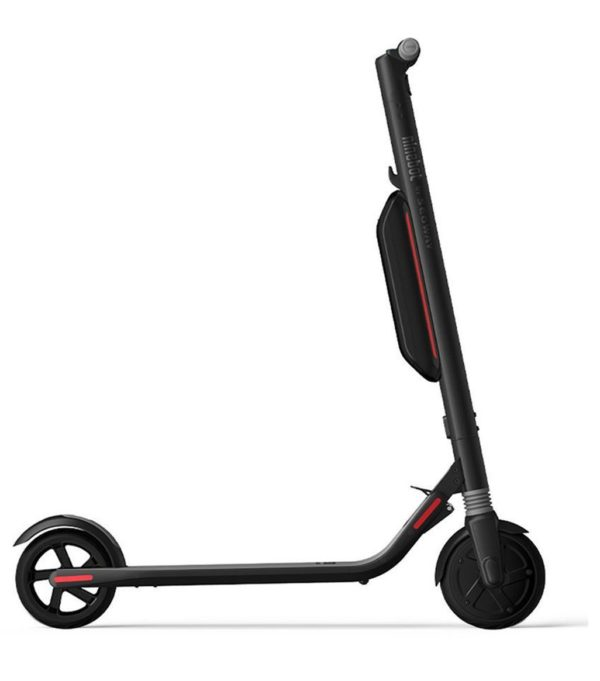 ninebot segway es4 electric scooter side profile