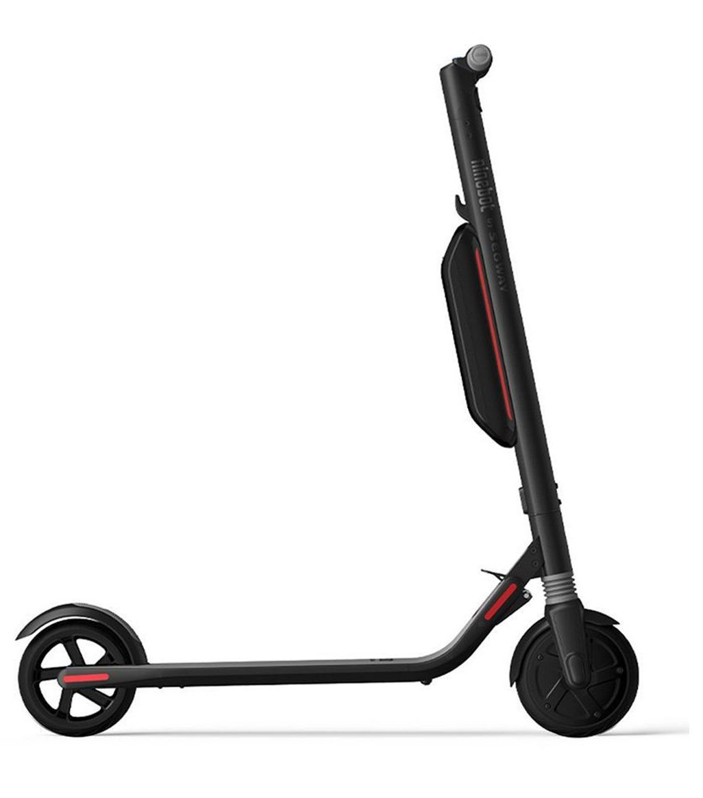 ninebot segway es4 electric scooter side profile