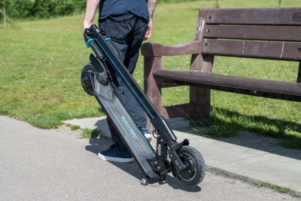 Inmotion L8F electric scooter Folded