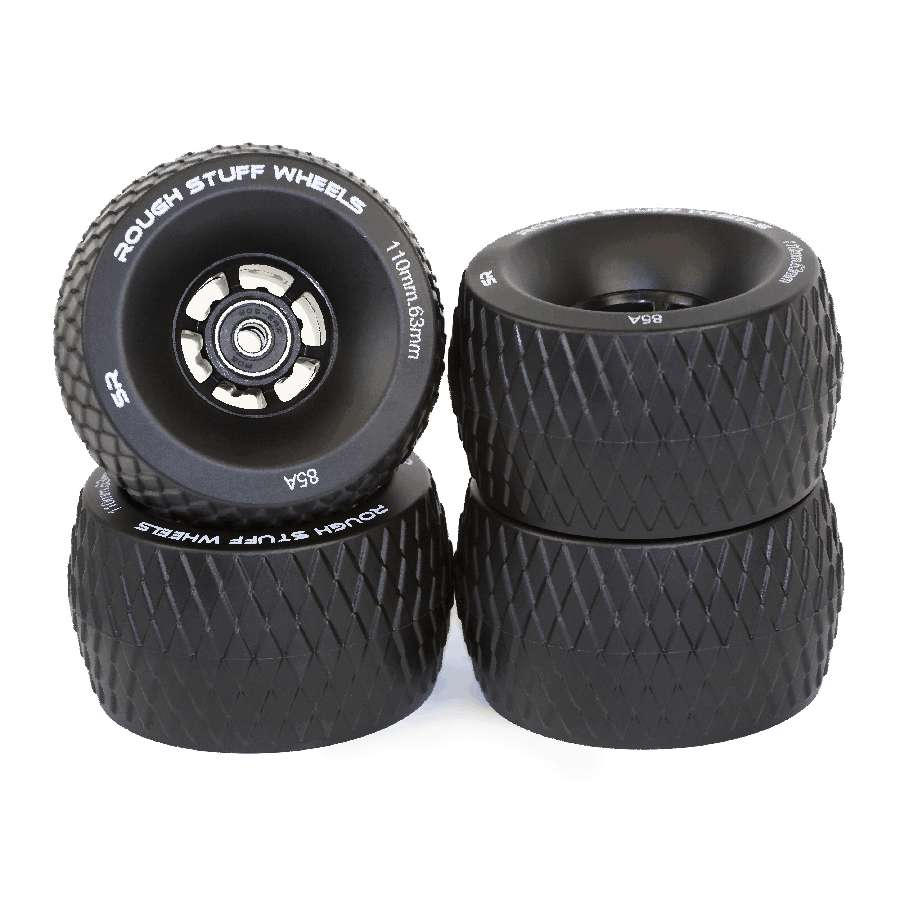 Slick Revolution Rough Stuff Wheels x 4 – Black