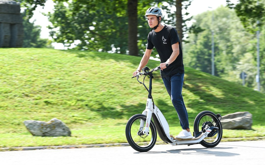 Electric Scooters Set To Become Legal In The UK Very Soon.