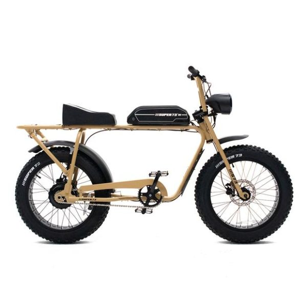 Super 73 SG1 tan electric bicycle side view